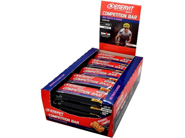 Enervit Sport Competition Bar Caja 25x30g, redfruit